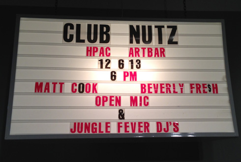 ARTBAR Club Nutz event