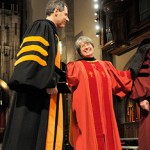 Elizabeth with the Provost