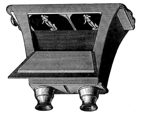 Figure 1: The Brewster lenticular stereoscope, 1849.