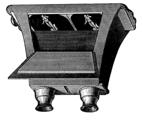Figure 1: The Brewster lenticular stereoscope, 1849.