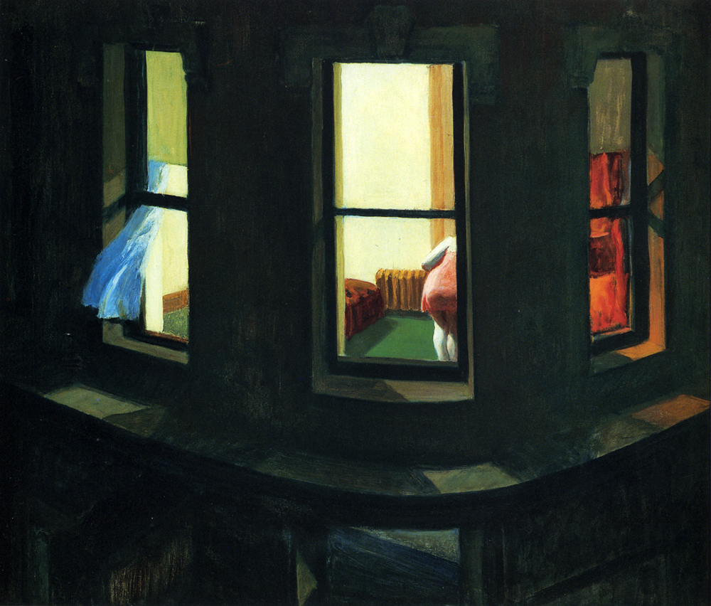 """Night Windows"" by Edward Hopper"