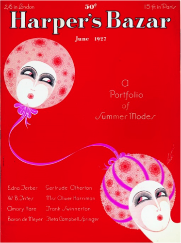 "Figure 2 - ""Cover."" Harper's Bazaar. 60, no. 6 (June 1927)."