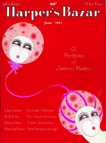 """Figure 2 - """"Cover."""" Harper's Bazaar. 60, no. 6 (June 1927)."""