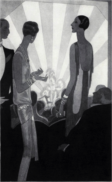 "Figure 4 - ""Fashion: As Paris Dances."" Vogue 69, no. 4 (Feb 15, 1927): 63."