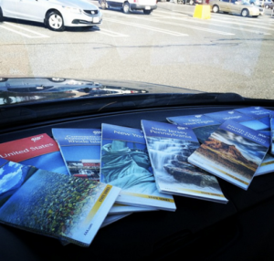 AAA maps for every state I thought I might pass through - Pittsfield, Massachusetts