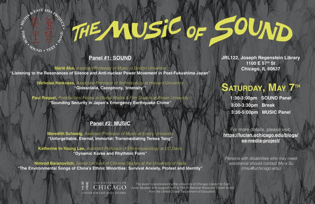 Music of Sound Panels Poster