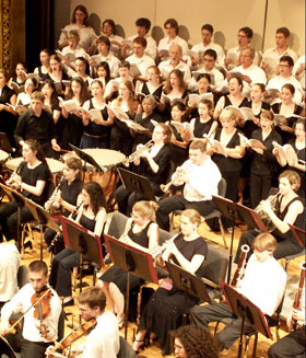 University Chorus and University Symphony Orchestra