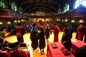 mandel hall graduation