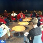An IHC Cafe Society event, organized by Jeff Gilliland (MAPH '13)