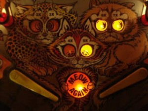 Bad Cats: because other pinball games are for cowards.
