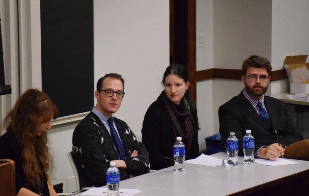 Panel 2 Q&A Session, L-R: Julia Gantman, Trevor McCulloch, Sarah Welch, Jake Mecham