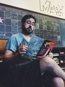 Brent is now primarily interested in heavy academic reading, mostly focusing his studies on board game manuals.