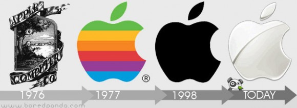 logo-evolution-brand-companies-apple