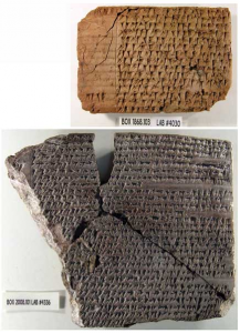 Two newly recorded final administrative records in Elamite cuneiform, after conservation. Image courtesy of the Oriental Institute.