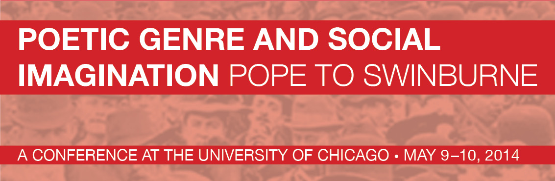 Poetic Genre and Social Imagination: Pope to Swinburne