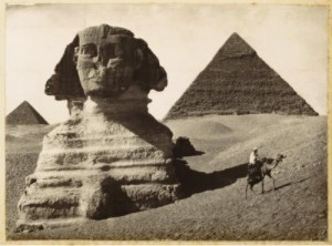 Sphinx and Pyramids, Giza