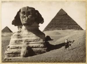Sphinx and Pyramids, Giza