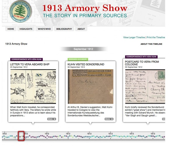 Armory Timeline, Archives of American Art