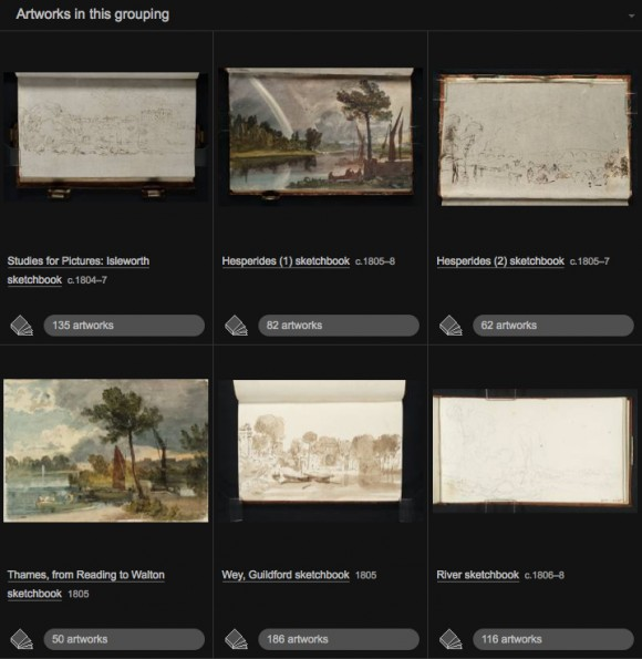 Turner Sketchbooks