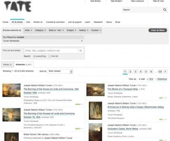Turner Worldwide Tate