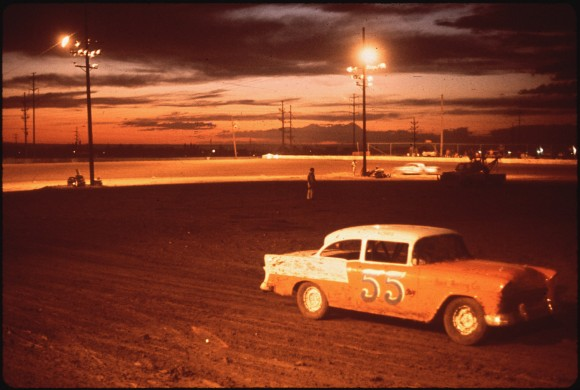 Albuquerque Speedway Park, One of Three Stock Car Race Tracks in Albuquerque
