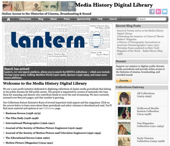 mediahistorydigitallibrary